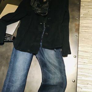 Suede jacket medium
